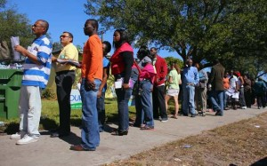 Photo Courtesy of Color Lines- 2012 Early voters